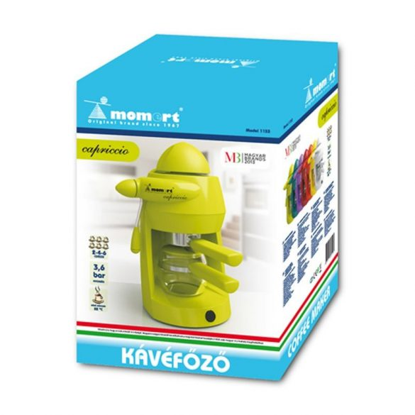 Momert Capriccio 1163 kávéfőző zöld