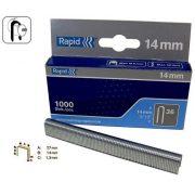 Rapid tűzőgép kapocs 36/14mm 1000db