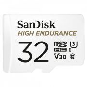 Sandisk High Endurance Card 32GB MicroSDHC U3, V30 100/40MB/s memória kártya