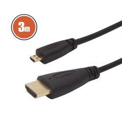 Delight 20425 micro HDMI kábel, 3m