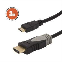 Globiz HDMI - miniHDMI kábel, 3m