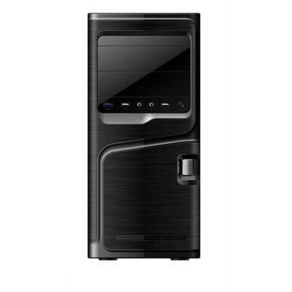 nBase 327 N400 midi ATX PC ház + 400W táp