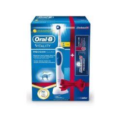 Braun D12.513 elektromos fogkefe ajándék fogkrémmel