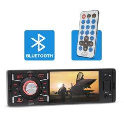 M.N.C Pilot mutlimédiás autórádió USB/MP3/MicroSD/Aux/Bluetooth