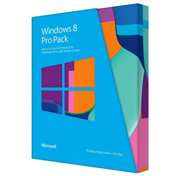 Microsoft Windows 8 Pro Pack 32/64bit Hun