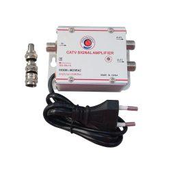 JMA CATV antennajel erősítő 20dB max. 2 kimenettel