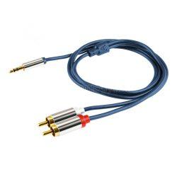 Home A49-4M 3,5mm jack- 2 RCA kábel, 4m