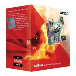 AMD A4-3400 x2 2,7GHz FM1 processzor OEM