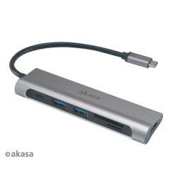Akasa USB 3.1 Type-C 6-In-1 Dock AK-CBCA14-18BK