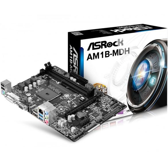 AsRock AM1B-MDH AMD AM1 alaplap