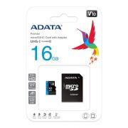 Adata AUSDH16GUICL10A1-RA1 16GB microSDHC + adapter