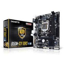 Gigabyte B150M-D2V DDR3 S1151 alaplap