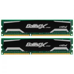 Ballisttix Curcial 16GB 1600MHz KIT 2 DDR3 memória