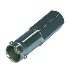 HQ BNC aljzat RG59 kábelre tekerhető