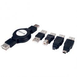 HQ CMP-C162RK1 USB kábel csomag, adapter