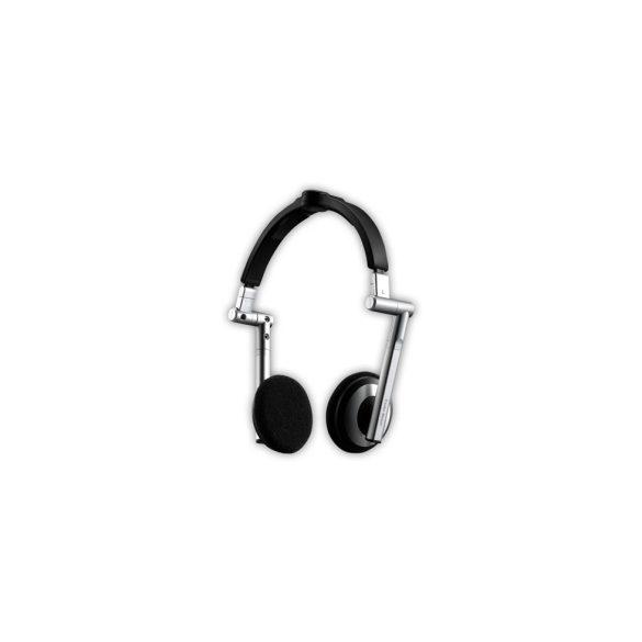 CM Storm HS500 Fekete összecsukható fejhallgató+mic.