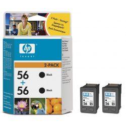 HP C9502AE ( 56 duo ) BK tintapatron
