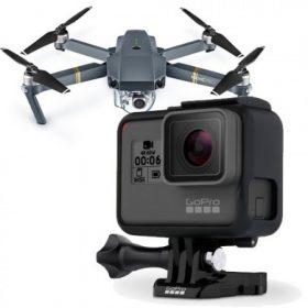 Akció kamera, drón