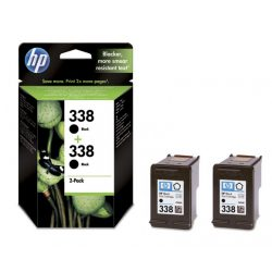 HP CB331EE ( 338 Duo ) BK tintapatron