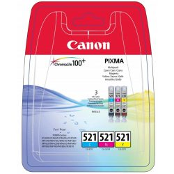 Canon CLI-521Multi Pack (C,M,Y) 3 szín egy csomagban