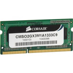 Corsair CMSO2GX3M1A1333C9 2GB 1333MHz DDR3 notebook memória