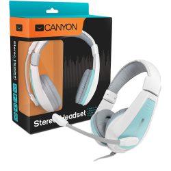 Canyon CNS-HHSU2WBL kék/fehér fejhallgató