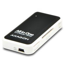 Axagon CRE-X1 USB 2.0 SD/microSD/MS/CF/XD kátyaolvasó