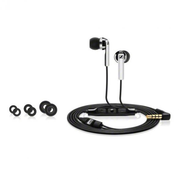 Sennheiser CX 2.00G Black zajszűrős fejhallgató mikrofonnal
