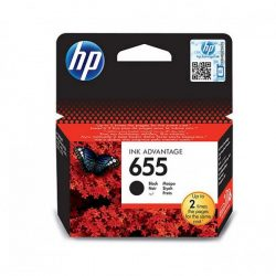 HP 655 (CZ109AE) tintapatron fekete