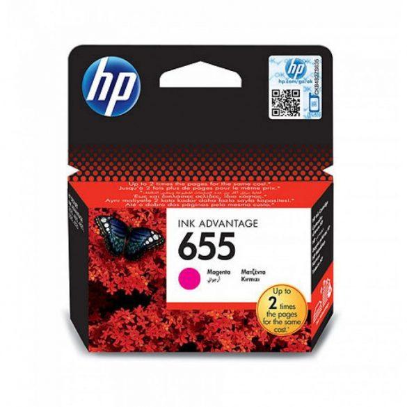 HP 655 (CZ111AE) tintapatron magenta