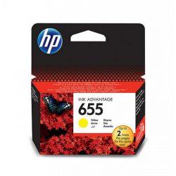 HP 655 (CZ112AE) tintapatron sárga