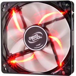 DeepCool Windblade 120mm ház ventillátor piros LED-del