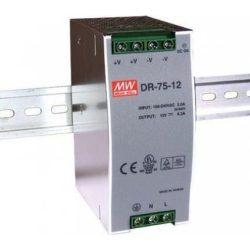 DR-75-48 48V 75W tápegység DIN