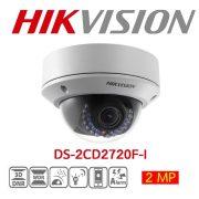 Hikvision DS-2CD2720F-I 2MP 2,7-12mm kültéri dómkamera, 1920x1080@25fps