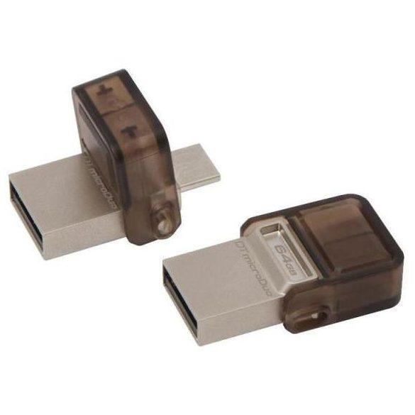 Kingston DTDUO 64GB USB/MicroUSB Pendrive OTG