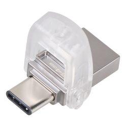 Kingston 64GB USB3.1 A/USB3.1 C Duo ezüst pendrive