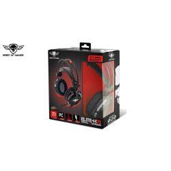 Spirit of Gamer fejhallgató ELITE-H70 (7.1, mikrofon, USB, 2.4m, fekete)