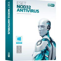 ESET Nod32 Antivírus szoftver dobozos változat 1 év támogatással