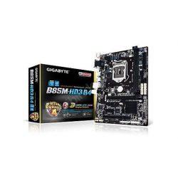 Gigabyte B85M-HD3R4 DDR3, s1150, HDMI, DVI alaplap