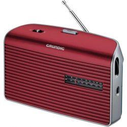 Grundig Music 60 hordozható rádió (GRN1540) piros