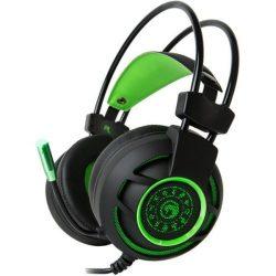Marvo fejhallgató HG9012 (7.1, mikrofon, 2.5m, gaming, zöld)
