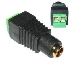 ICP-DCA01 sorkapoccsal szerelt DC táp csatlakozó aljzat