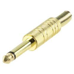 HQ JC-032 6,35mm dugó mono aranyozott