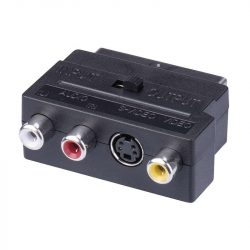 Emos Scart - 3RCA+Svideo adapter