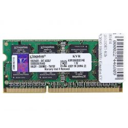 Kingston KVR1066D3S7/4G 4GB 1066MHz DDR3 Notebook memória