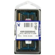 Kingston SO-DIMM 4GB 1333MHz DDR3 notebook memória