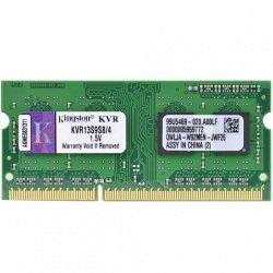 Kingston KVR13S9S8/4 4GB DDR3 SODIMM memória notebookba