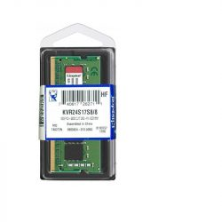 Kingston KVR24S17S8/8 DDR4 2400MHz SO-Dimm notebook memória