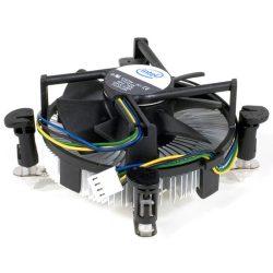 Intel gyári hűtő ventillátor LGA1150/1155/1156 core i3-ig