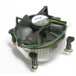 Intel gyári hűtő ventillátor LGA1150/1155/1156 core i7-ig